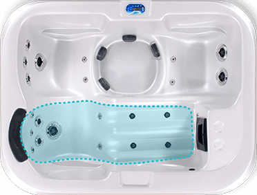 Hydrotherapy recliner